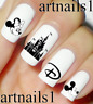 Disney Mickey Minnie Nail Art Water Decals Stickers Manicure Salon Mani Polish