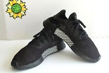 Adidas Deerup Runner Core Black Shoes, Triple Black B41768. US Size 12