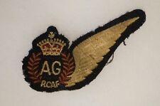 WW2 Canadian RCAF Air Gunner AG Wings 1