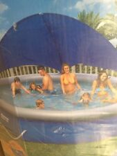 """Bestway Fast Set Round Inflatable swimming pool Package 15ft x 38"""" bn. Rrp £359"""