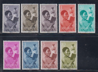 RIO MUNI  (1960 ) MNH COMPLETE SET SC SCOTT 1/9 BOY READING AND MISSIONARY