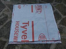 Tyvek sheets 30g, ~0.7mx0.7m, 0.5-square-metres. Samples, craft, wrap, liners...