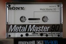 Sony Metal Master (1988) 1st Edition 90 Audio Compact Cassette Mint!