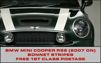 BMW Mini R56 Bonnet Stripes John Cooper Style, Works S, Choice of colours 7 year
