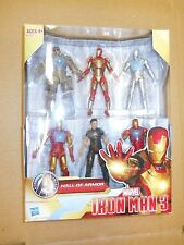 Marvel Universe Lot IRON MAN 3 HALL OF ARMOR COLLECTION 6-pack legends 2