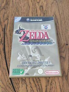 The Legend Of Zelda The Wind Waker FRA Très Bon état carte vip grattée.