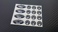 Limited Edition Ovals & Dial Stickers decals Set for the Delkim TXI PLUS EV STD