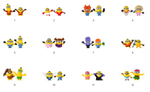 McDonald's Happy Meal Toy Minions 2021 [Combine  Postage]