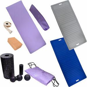 Yogamatte Yogaset Faszienset Pilates Rutschfest Fitness Entspannung Homeworkout