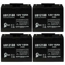 4-pack APC SMART UPS 1500 3000 Battery UB12180 12V 18Ah Sealed Lead Acid SLA AGM