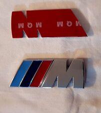 Emblem logo 3M IIIM BMW M3 M5 M6 X1 X3 X5 X6 E36 E39 E46 E30 E60 E92 METALLIC 3D