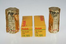 4 ROLLS NOS Kodak TRI-X Pan TX 120  Roll Black & White Roll Film 1994-97