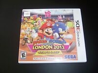 Replacement Case (NO GAME) MARIO & SONIC AT THE LONDON 2012 GAMES Nintendo 3DS