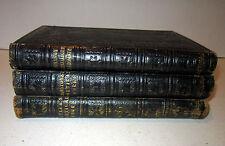 3 volumes-Poetical Works of Butler, Shenstone, Johnson-Parnell-Gray-Smollet 1854