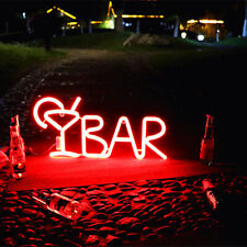 Led Neon Sign Light Bar Letter Beer Juice Bar Party Hotel Wall Decoration Light