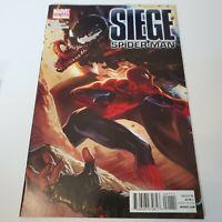 Siege Spider-Man #1 One Shot Venom & Spider-Man Cover 2010