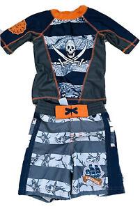 🏴☠️Disney Pirates of Caribbean Dead Men Tell No/Tales Swim/Trunk Swim/shirt 3