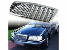 Front Grille ABS Grill For Mercedes Benz W202 C-Class C220 C230 C280 C36 94-00