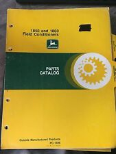 John Deere 1850 & 1860 Field Conditioners Parts Catalog