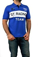 Hackett X Aston Martin GT Racing short-sleeved polo shirt Blue/white 24hr BNWT