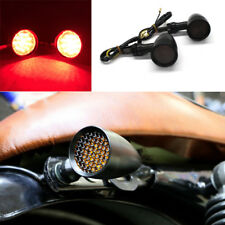 Motorcycle LED Running Turn Signal Tail Light Lamp Bullet Stop Brake Indicators