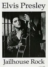 ELVIS PRESLEY ~ JAILHOUSE ROCK GUITAR 23x33 MOVIE POSTER Music NEW/ROLLED!