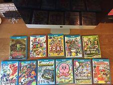 Wii U Games Lot Great Condition Super Mario 3D World, Windwaker HD, Kirby