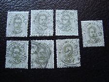 italia sello yvert y tellier nº 62 x7 matasellados diente tout estado A11 Italia
