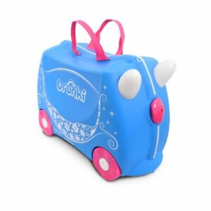 * NEW * Trunki Ride On Suitcase Princess Carriage Pearl - Kid's Luggage