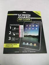 28 Premium Wow Screen Protector Guard Film for iPad 2 / iPad 3 w/cleaning cloth