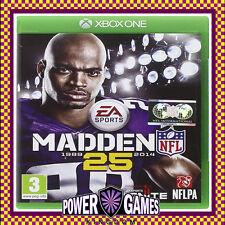Madden NFL 25 (Microsoft Xbox One) Brand New