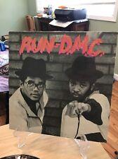 RUN DMC first Self Lp Vinyl Record PRO 1202B Rap Old School