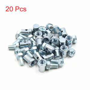 Motorcycle Top Screw Solderless Cable Nipple 6mm Dia with 2mm Cable hole