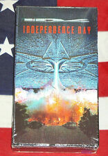 NEW Independence Day (VHS, 1996) Hologram Cover RARE Factory Sealed USA!