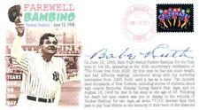 COVERSCAPE computer designed 70th anniversary of Babe Ruth's Farewell cover