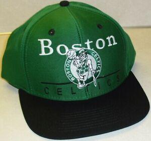 Boston Celtics Adidas snapback hat Green Black New Nba