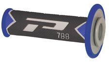 Pro Grip 788GBBL Handle Bar Grips Fits 22-25mm Bar Gray/Blue 17-7987 788GBBL