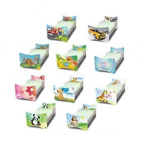 Best For Kids Kinderbett Bett Jugendbett 4 Größen 8 Motive 80x160 90x200 90x180