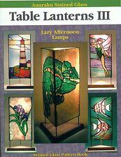 Aanraku Table Lanterns III Stained Glass Book, Books, Lights,