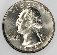 1989 P & D Washington Quarters Choice/Gem Bu from mint sets