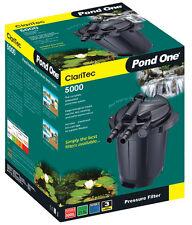 Pond One P1-93073 CariTec 15000 Pressurised Pond Filter With Backwash