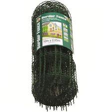 10M X 0.65M Garden Border Fence Separator Edge Surround Metal Pet Enclosure