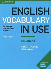 English Vocabulary in Use: Advanced Book with A, McCarthy, O'Dell..