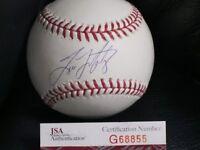 Tino Martinez Autographed Baseball JSA Certified