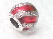 NEW AUTHENTIC Pandora Adornment Red Transparent charm 791991EN07