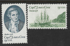 USA 1978 CAPTAIN COOK HAWAII Bi-Centenary 2 values MNH