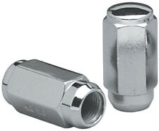 Set of 24 Chrome 14x1.5 Duplex Conical Closed Ended Lug Nuts 1988-2010
