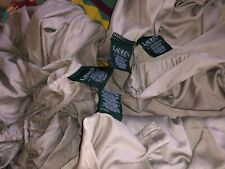 Ralph Lauren Solid Stone Gray  100% cotton Sateen Full bedding set