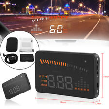 "3"" Auto HUD LCD Head Up Display OBD II Geschwindigkeit Alarm System LIGHT 02"