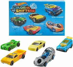 Hot Wheels Colour Shifters 5 Pack